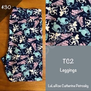 TC2 LuLaRoe Collection for Disney Leggings
